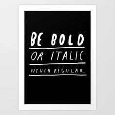NEVER Art Print by WASTED RITA