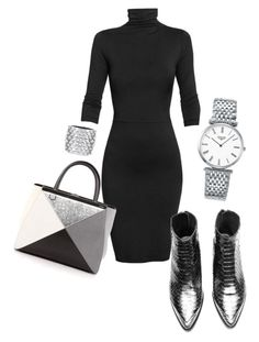 """Untitled #26"" by nidaaltayy on Polyvore featuring Undress, Fendi, Longines and Tom Ford"