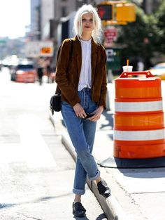 @ New York Fashion Week s/s 2015 - streetstyle