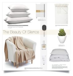 """""""The Beauty Of Silence"""" by marina-volaric ❤ liked on Polyvore featuring interior, interiors, interior design, home, home decor, interior decorating, By Nord, Epoque, Barneys New York and Home Decorators Collection"""