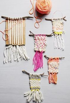 Easy weaving project. photo by Tara Donne