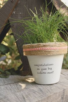 Congratulations by PlantPuns on Etsy