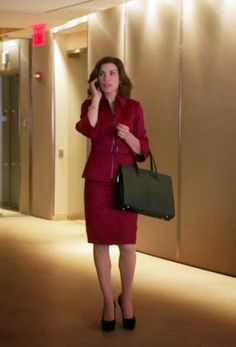 "Alicia's 35•DL Maroon Suit The Good Wife Season 5, Episode 1: ""Everything is Ending"" - Spotted on TV"