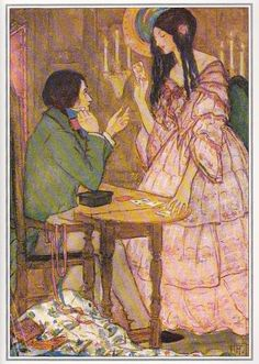 christina rossetti illustrated by florence harrison