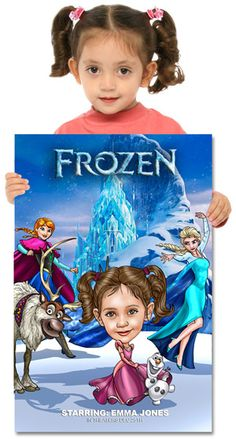 Custom Disney Frozen Poster