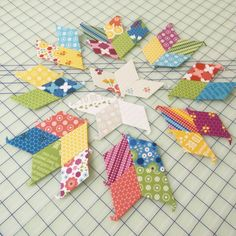 """Kimberly & FQS team on Instagram: """"It's time for Step 5 of our #EPPSewAlong ! We sewed up all of our blocks and its time to put our stars together! #fqsfun #showmethemoda"""""""
