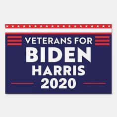 Veterans For Biden Harris 2020 Biden 2020 Election Sign - tap to personalize and get yours #Sign #veterans #for #biden #harris #2020