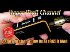 Aspire Archon 150w Mod & It's A Myth Liquid