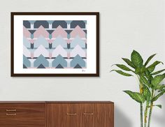 Discover «Scandi Waves», Numbered Edition Fine Art Print by DesigndN - From 29€ - Curioos