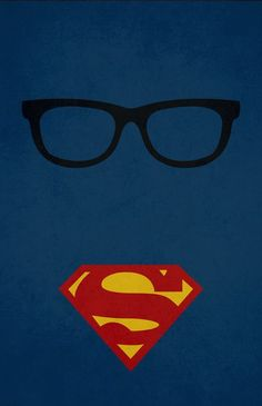 Clark Kent/Superman - LOVE THIS! - I want this on a t-shirt!: