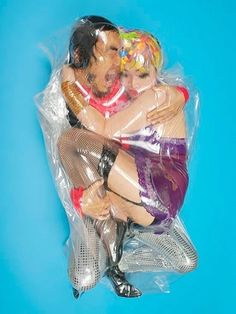 12 Japanese Couples Wrapped In Plastic Bags -- Seriously? Why are Japanese people so weird? -- The Nation, not the race.