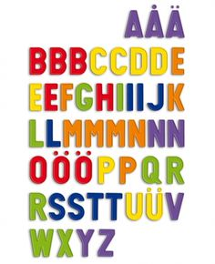 #quercetti #magnets #capital letters