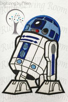 Star Wars R2D2 appliques, appliques de broderie