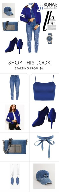 """DENIM VIBE"" by agnesmakoni ❤ liked on Polyvore featuring WearAll, COS, Tom Ford, Charlotte Russe, Chico's and Calvin Klein"