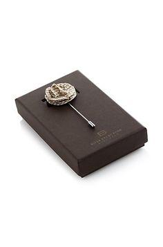 Flower lapel pin 'Flower Brooch 2' by BOSS Selection