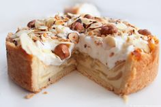 ...what Ina loves ❤ {by cityglamblog}: {Delicious Day} Creamy Apple-Nut-Cake