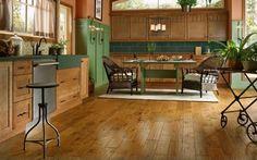 Kitchen Designs | Kitchen Design Ideas | Armstrong Design Gallery - Hardwood | Hickory | Light Chestnut