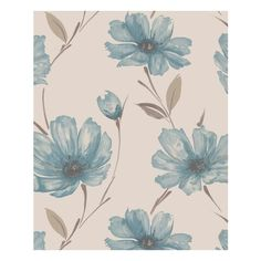 Graham & Brown Spirit Teal (23 KWD) ❤ liked on Polyvore featuring home, home decor, wallpaper, backgrounds, pictures, fillers, patterns, pattern wallpaper, teal home accessories and graham brown wallpaper