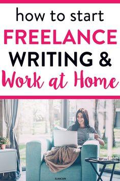 Online Writing Jobs, Freelance Writing Jobs, Online Jobs, Work From Home Jobs, Make Money From Home, Jobs For Women, Creative Jobs, Business Motivation, Business Tips