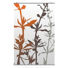 Wildflower in Silver and Rust XL Slat
