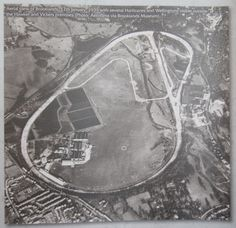 Aerial view of Brooklands Circuit taken on 12th January, 1939. (Photo Aerofilms via Brooklands Museum)