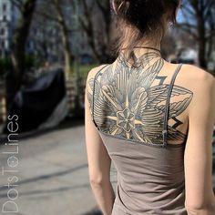 dotstolines #ink #tattoo