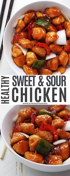 Chicken, Healthy Sweet And Sour Chicken, Sweet and sour chicken crockpot, Baked sweet and sour chicken, Low carb chicken Teriyaki Chicken, Honey Sriracha Chicken, Sweet Sour Chicken, Baked Chicken, Sweat And Sour Chicken, Sweet And Sour Shrimp Recipe, Sweet And Sour Soup, Sweet And Sour Recipes, Chilli Chicken Recipe
