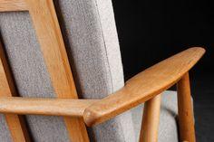 1955 Hans J Wegner CIGAR lounge chair GETAMA Mid by lastcenturydk, kr4995.00