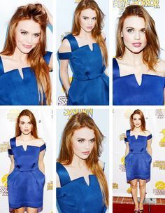 Holland Roden attends the 40th annual Saturn Awards