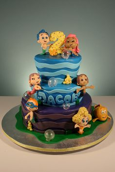 Bubble Guppies Cake by marksl110, via Flickr