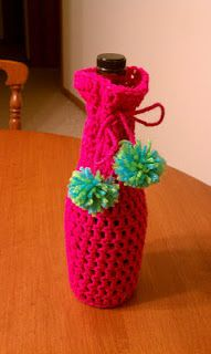 How to crochet a Wine Bottle Cover