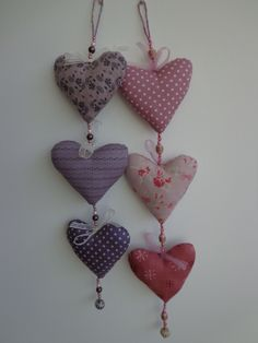 Hanging Hearts - Created by Jan