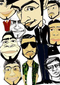 9 twarzy