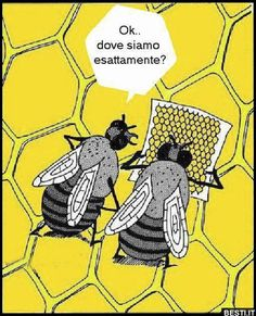 I love bee humor! Cartoon Bee, I Love Bees, Bee Friendly, Bee Art, Humor Grafico, Bee Happy, Bees Knees, Bee Keeping, Laugh Out Loud