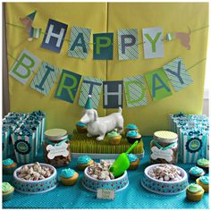 Project Nursery - Puppy 1st Birthday Party