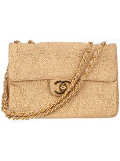 CHANEL VINTAGE Large Shoulder Bag
