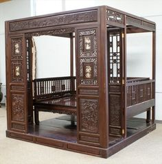 CHINESE WEDDING BEDS | beautiful chinese wedding bed | I just really ...