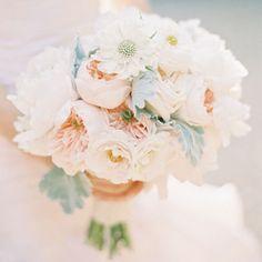 Brides: 8 Romantic Peony Wedding Bouquets - Wedding Bouquet Ideas - Wedding Flower Photos
