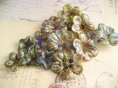 Knot Just Macrame by Sherri Stokey: Tutorial for Painting Lucite Flowers