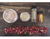 EYE MAKEUP REMOVER argan oil cornflower vegan by SoapyLayne