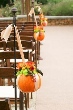 fall wedding pumpkin ideas rustic decoration
