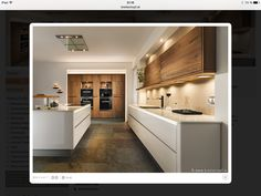 Pin by Marie Chen on Küche | Pinterest | Rustic kitchen, Open ... | {Altholzküchen modern 21}