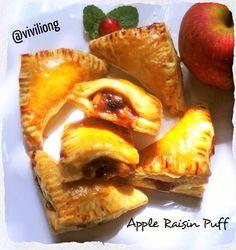 Apple Raisin Puff