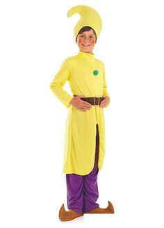 Yellow Dwarf childrens dress up costume by Fun Shack