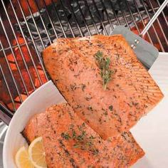 Barbecued Salmon Recipe on Yummly