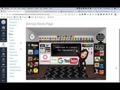 (168) Bitmoji Classroom & Canvas - YouTube Beginning Of School, First Day Of School, Learning Resources, Arcade Games, Quizzes, Make It Yourself, Teaching, Education, Canvas