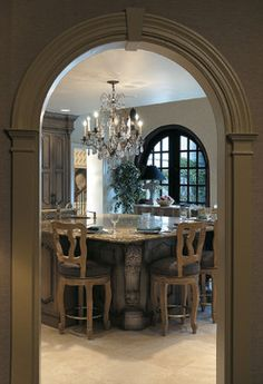 Crystal Cabinetry - traditional - kitchen - other metro - Kleppinger Design Group, Inc.