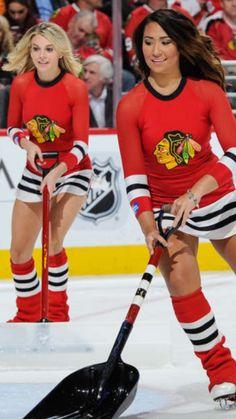 Blackhawks Ice crew