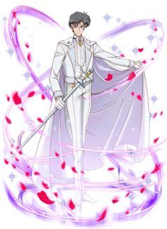 Silver Moon Crystal Power Kiss!