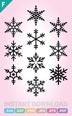 Snowflakes SVG Files, Christmas SVG Files, Snowflakes SVG, Christmas Svg Cutting File, Snow Svg, Mer Christmas Snowflakes, Christmas Nail Art, Cozy Christmas, Christmas Svg, Holiday Ornaments, Olaf Birthday Cake, Snowflake Cookies, Christmas Drawing, Snowflake Designs